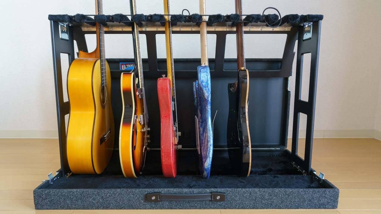 Ultracase GSX-6 最強クラスのギタースタンドをレビュー